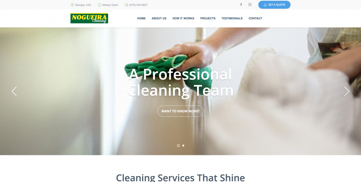 Nogueira Cleaning – House Cleaning Services