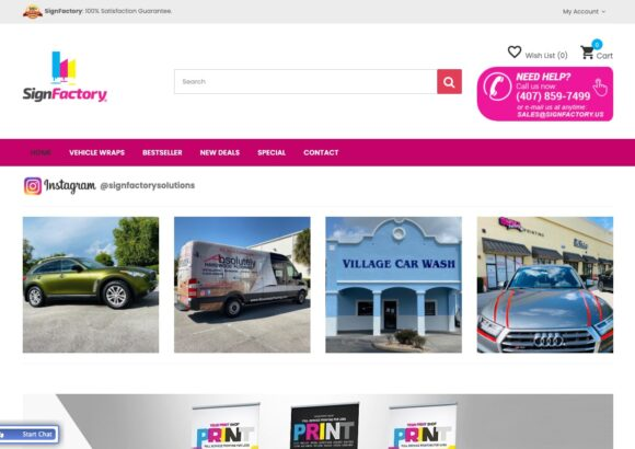SignFactory – Online Printing Services